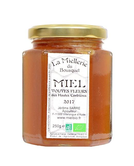 Miel de flores orgánica - Miellerie du Bousquet
