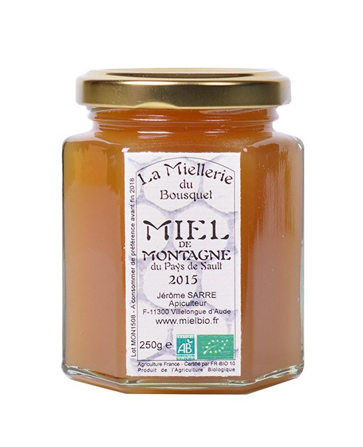 Miel de montaña orgánica - Miellerie du Bousquet