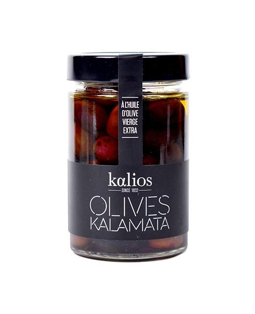 Aceitunas Kalamata en aceite de oliva virgen extra - Kalios