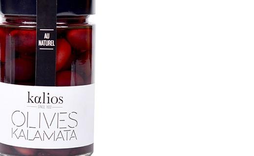 Aceitunas Kalamata al natural - Kalios