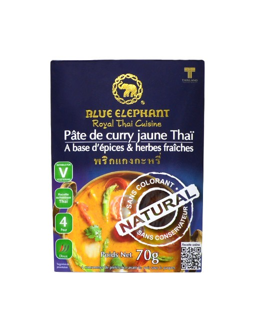 Pasta de Curry amarillo - Blue Elephant