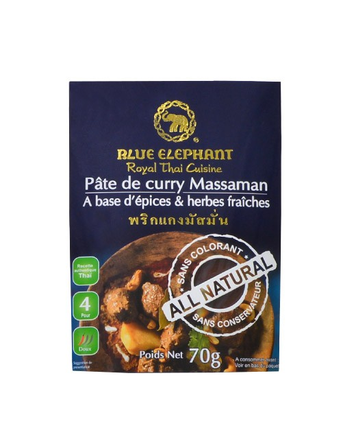 Pasta de Curry Massaman - Blue Elephant