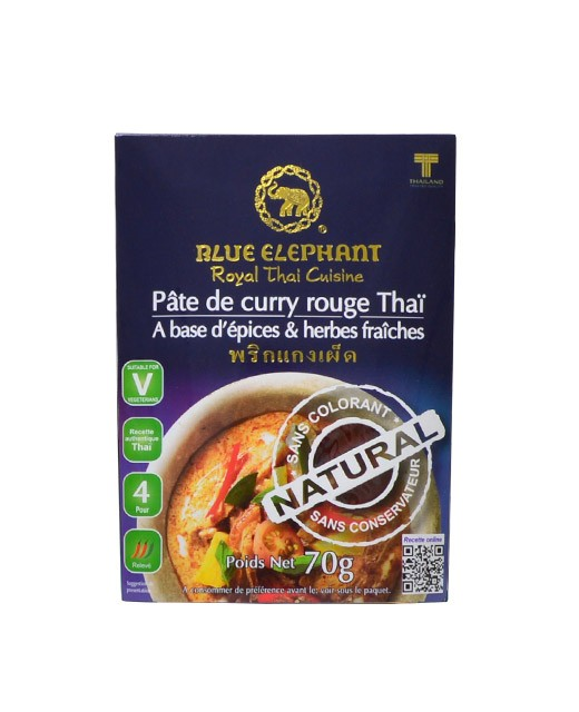 Pasta de Curry Rojo - Blue Elephant