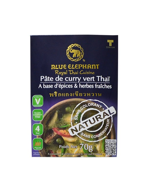 Pasta de Curry Verde - Blue Elephant