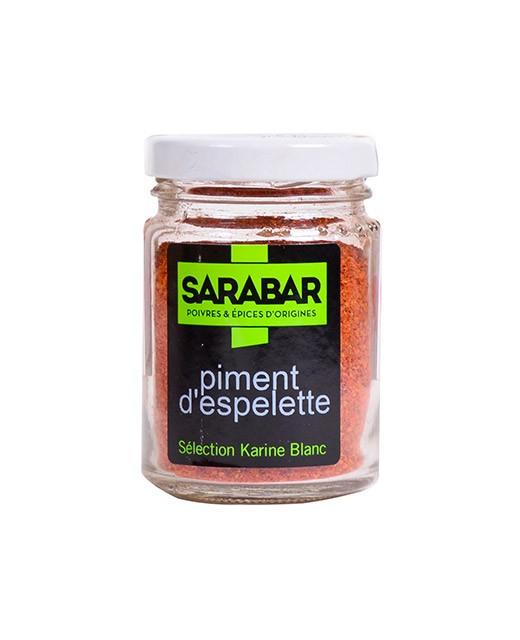 Pimiento de Espelette en polvo - Sarabar