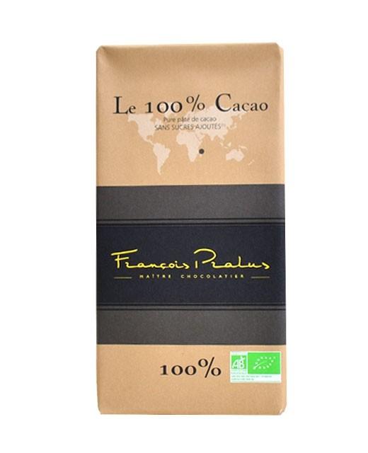 Tableta chocolate negro 100% Madagascar orgánico - Pralus