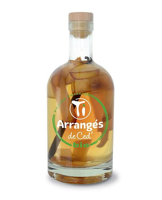 Ron macerado con Manzana y Pera - Orgánico - Les Rhums de Ced'