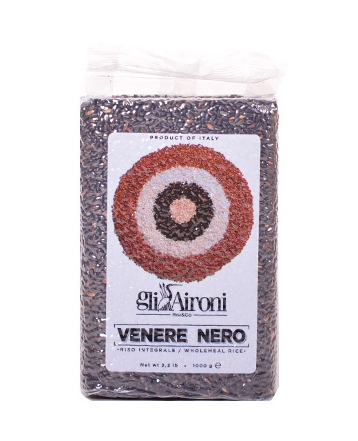 Arroz negro Venere Nero 1 kg - Gli Aironi