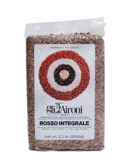 Arroz rojo Rosso Selvatico 1 kg - Gli Aironi