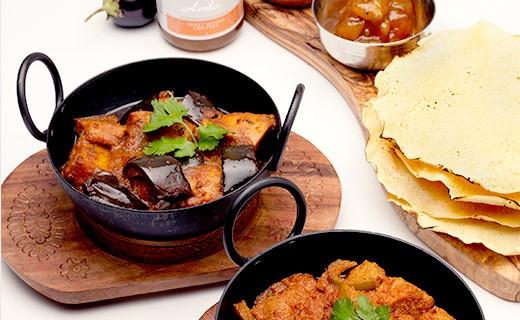 Salsa Curry muy picante - Anila's