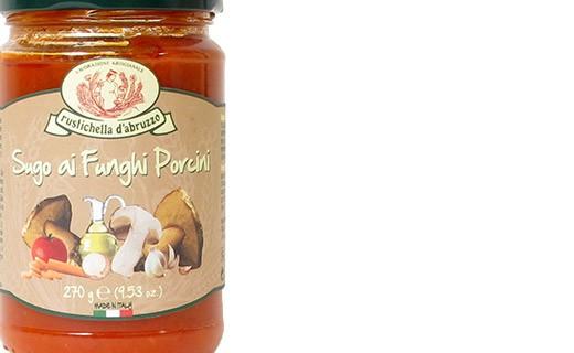 Salsa de tomate con setas - Rustichella d'Abruzzo