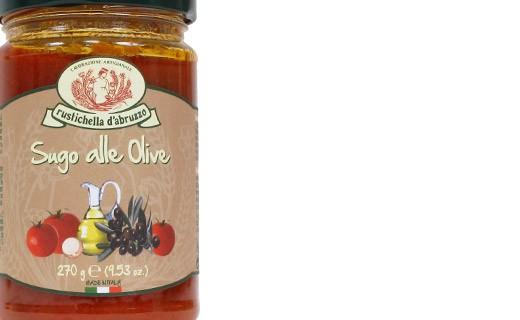 Salsa de tomate con aceitunas - Rustichella d'Abruzzo