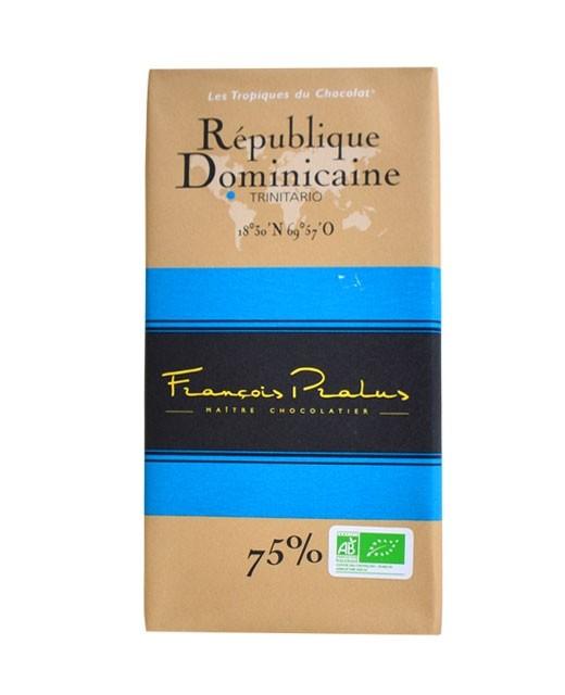Tableta chocolate negro República Dominicana orgánico - Pralus