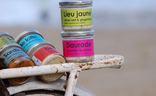 Sepia, entreverado con hierbas de mar - L'Atelier du Cuisinier