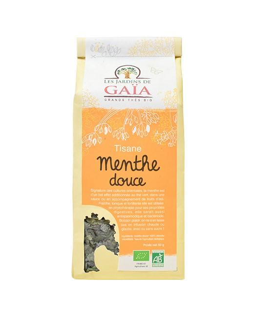 Tisana Menta dulce - Les Jardins de Gaïa
