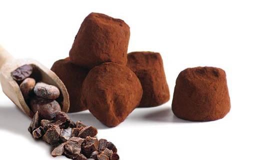 Trufas Fantasía con Granos de Cacao - Mathez